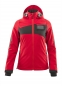 Mobile Preview: Damen Hard Shell Jacke 18311-231-20209 Mascot ACCELERATE verkehrsrot-schwarz