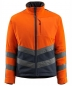 Preview: Warnschutz Fleecejacke Sheffield Mascot Safe Supreme orange-schwarzblau