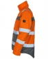Mascot Pilotjacke Loreto Warnschutz orange/anthrazit links