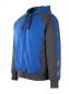 Mobile Preview: Sweatjacke Mascot Wiesbaden kornblau-schwarzblau links