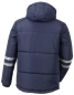 Preview: Planam Jacke CRAFT Outdoor 3766 marine hinten