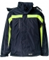 Mobile Preview: Planam Jacke Cosmic marine/gelb