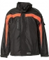 Preview: Planam Jacke Cosmic schwarz/orange
