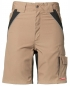 Preview: Planam Plaline Shorts sand/schwarz