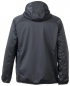 Preview: Planam Softshelljacke FOG Outdoor 3762 grau hinten