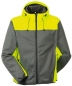 Preview: Planam Softshelljacke KONTRAST Outdoor 3733 grau-gelb