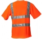 Preview: Planam Warnschutz T-Shirt uni orange hinten