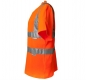 Preview: Planam Warnschutz T-Shirt uni orange links