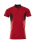 Preview: Polo-Shirt 18083-801-20209 Mascot ACCELERATE verkehrsrot-schwarz