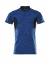 Mobile Preview: Polo-Shirt 18083-801-91010 Mascot ACCELERATE azurblau-schwarzblau