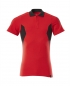 Preview: Polo-Shirt 18383-961-20209 Mascot ACCELERATE verkehrsrot-schwarz