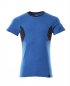 Mobile Preview: T-Shirt 18082-250-91010 Mascot ACCELERATE azurblau-schwarzblau