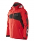Preview: Winterjacke 18035-249-20209 Mascot ACCELERATE verkehrsrot-schwarz links