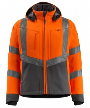 Mascot Blackpool Softshell Jacke Safe Supreme orange-dunkelanthrazit