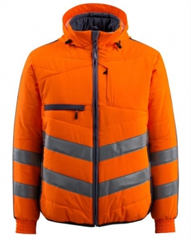 Mascot Dartford Thermojacke Safe Supreme orange-schwarzblau
