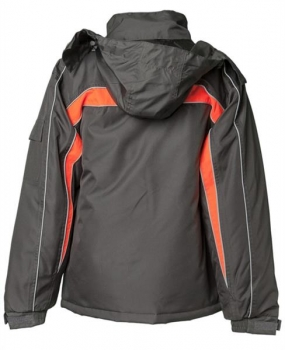 Planam Jacke Cosmic anthrazit/orange hinten
