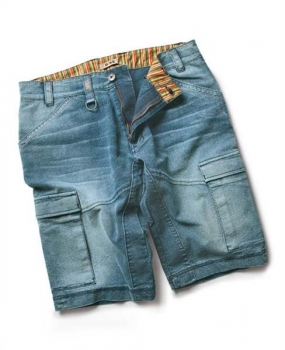 DIKE Picnic 91113 Short blue denim