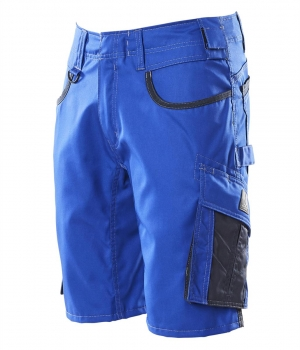 Shorts 18349-230-11010 Mascot UNIQUE kornblau-schwarzblau links