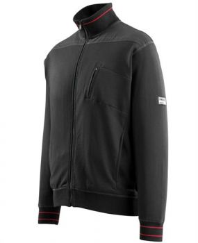 Sweatjacke CHANIA 50353-834-09 Mascot Frontline schwarz links