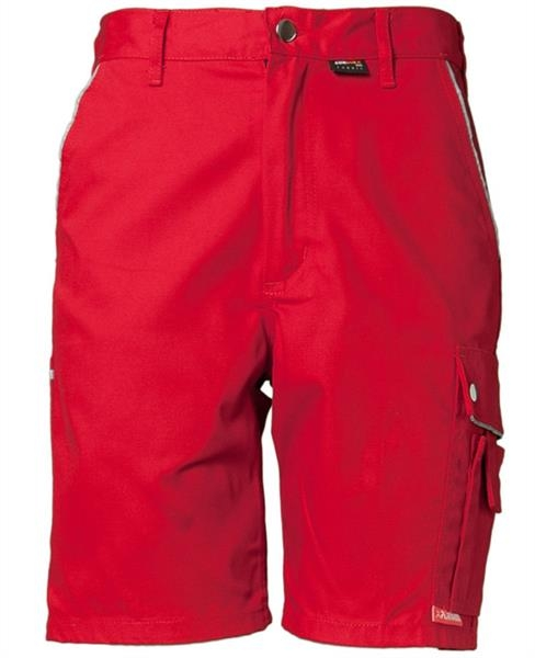 Planam Canvas 320 Shorts rot/rot