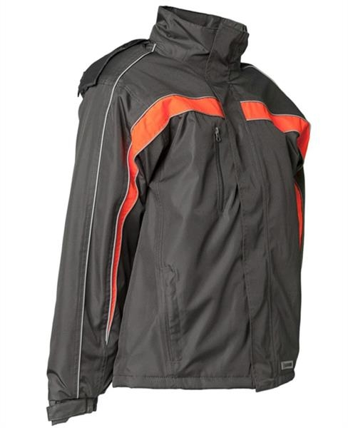 Planam Jacke Cosmic anthrazit/orange