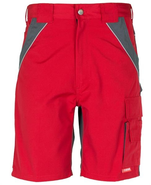 Planam Plaline Shorts rot/schiefer
