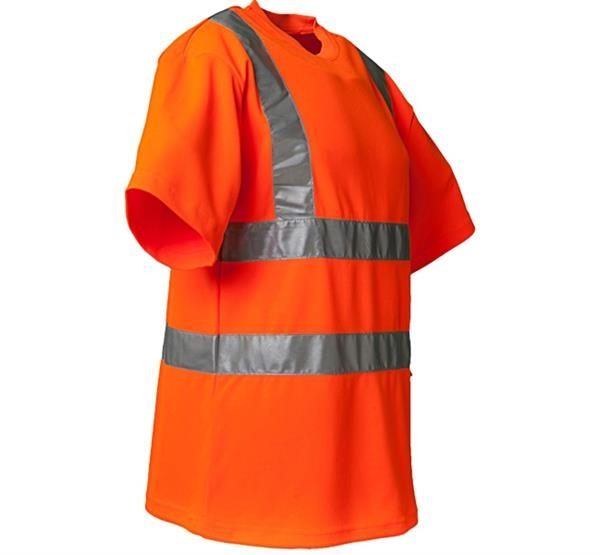 Planam Warnschutz T-Shirt uni orange